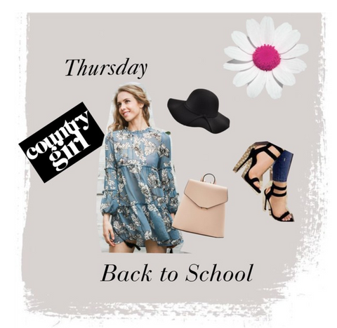 Back to School Outfits 2017- Borrowed by Design