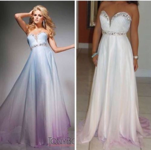Gorgeous Pageant or Prom Ombre Jeweled Dress