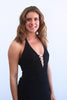 Black Morgan & Co Formal Halter Gown