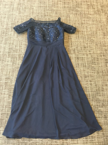Light in a Box Navy Mother of the Bride Dress