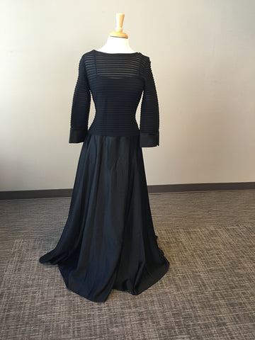 Black JS Collections Mother of the Bride Dress