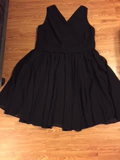 Plus Sized Little Black Dress (LBD)