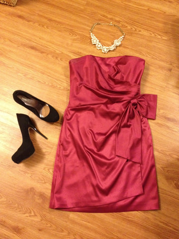 Bachelorette Fuchsia Party Dress
