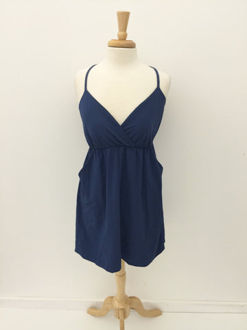 Navy Blue Game Day Dress