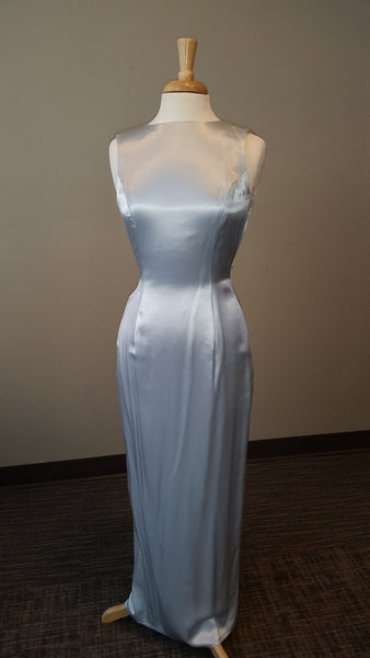 Jessica McClintock Blue Formal Gown