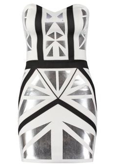 Miss Selfridge White Girls Night Out Dress