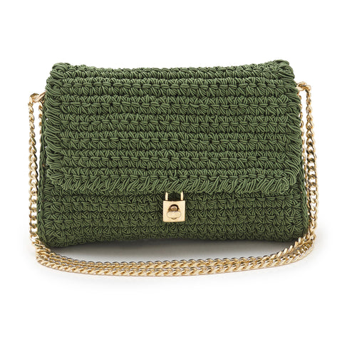 Lock | Crochet Bag
