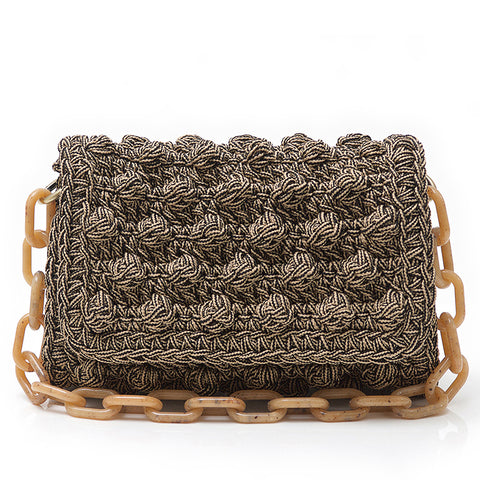 Crochet Bag I Taupe