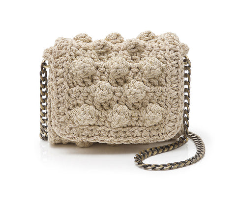 Crochet Bubble Mini Bag