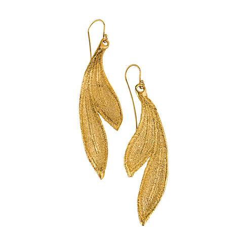 DAPHNE 24K GOLD PLATED EARRINGS