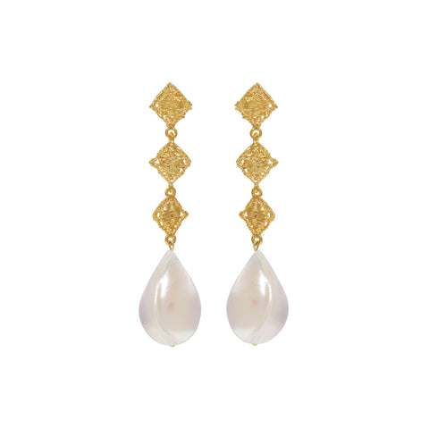 Isla | 24K Gold Earrings