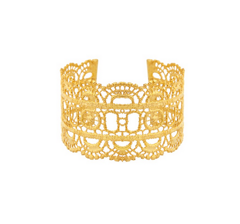 ELECTRA 24K GOLD PLATED CUFF