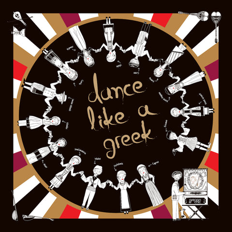 DANCE LIKE A GREEK I SILK SCARF