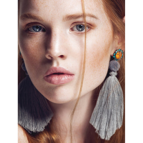 SAVVA I TASSLE EARRINGS