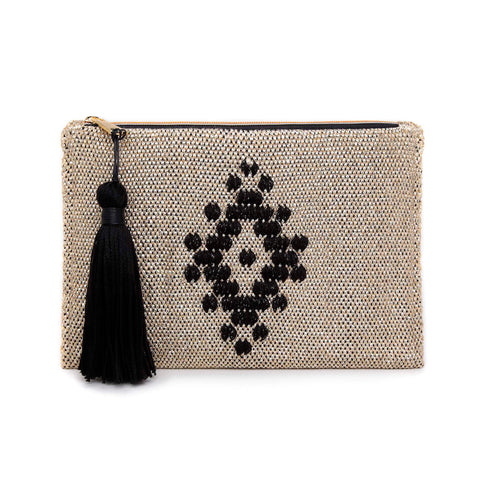 LIMITED EDITION WOVEN CLUTCH