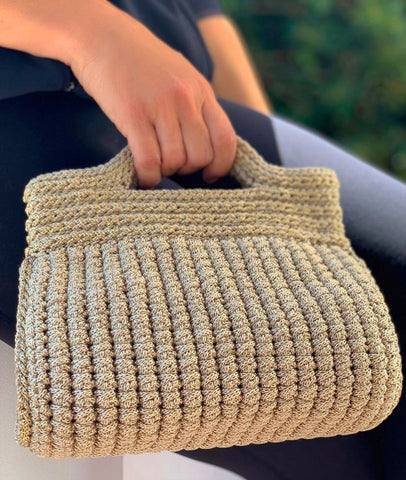 BARREL I  CROCHET BAG