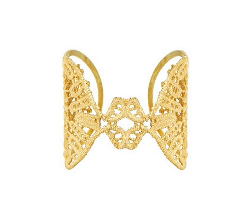LORI 24K GOLD PLATED CUFF