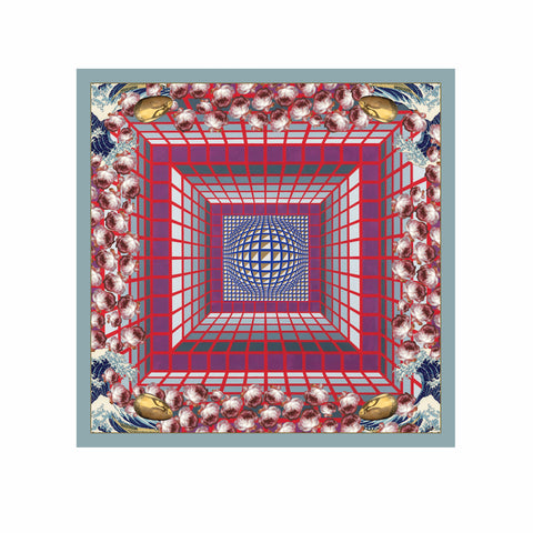 Silk Scarf - Muse Square