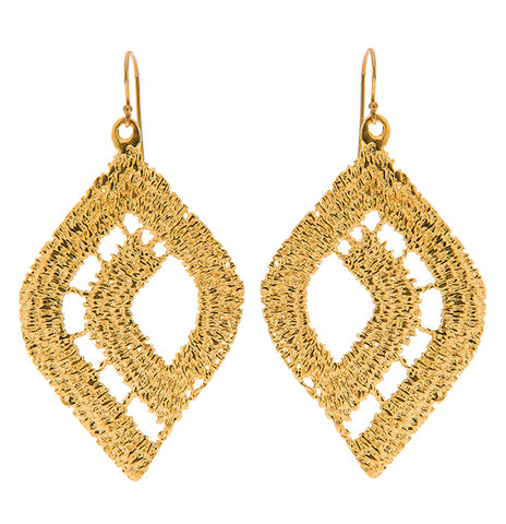 MYSTIQUE 24k GOLD-PLATED EARRINGS