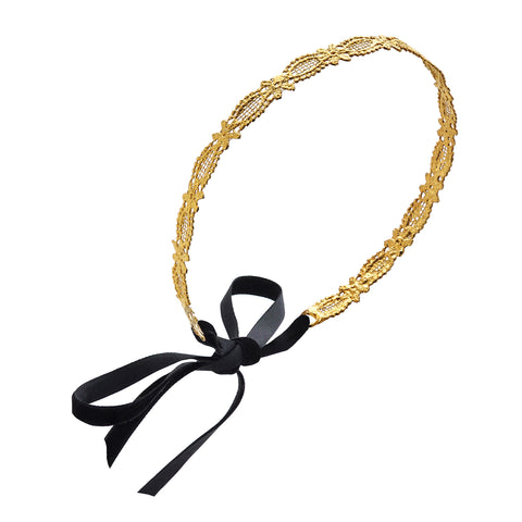 Mary | 24K Gold Headband