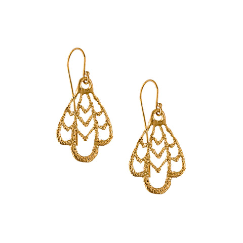 ORIOLE 24k GOLD-PLATED EARRINGS