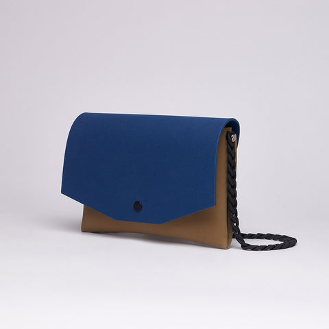 Clutch | Tan/Black