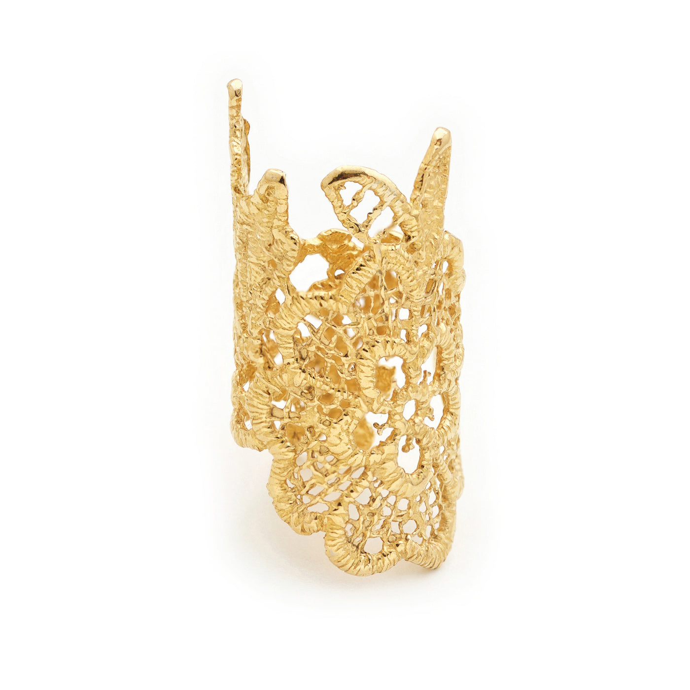 LACE 24k GOLD-PLATED RING