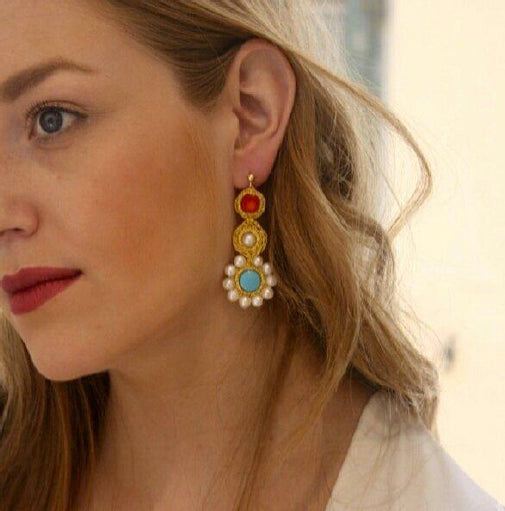 APHRODITE CROCHET EARRINGS