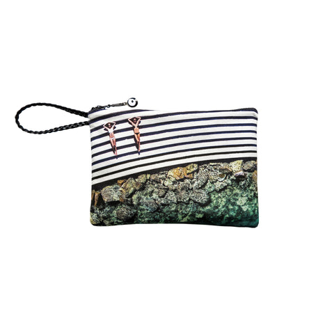 SMALL WATERPROOF CLUTCH - SEA THEATRE