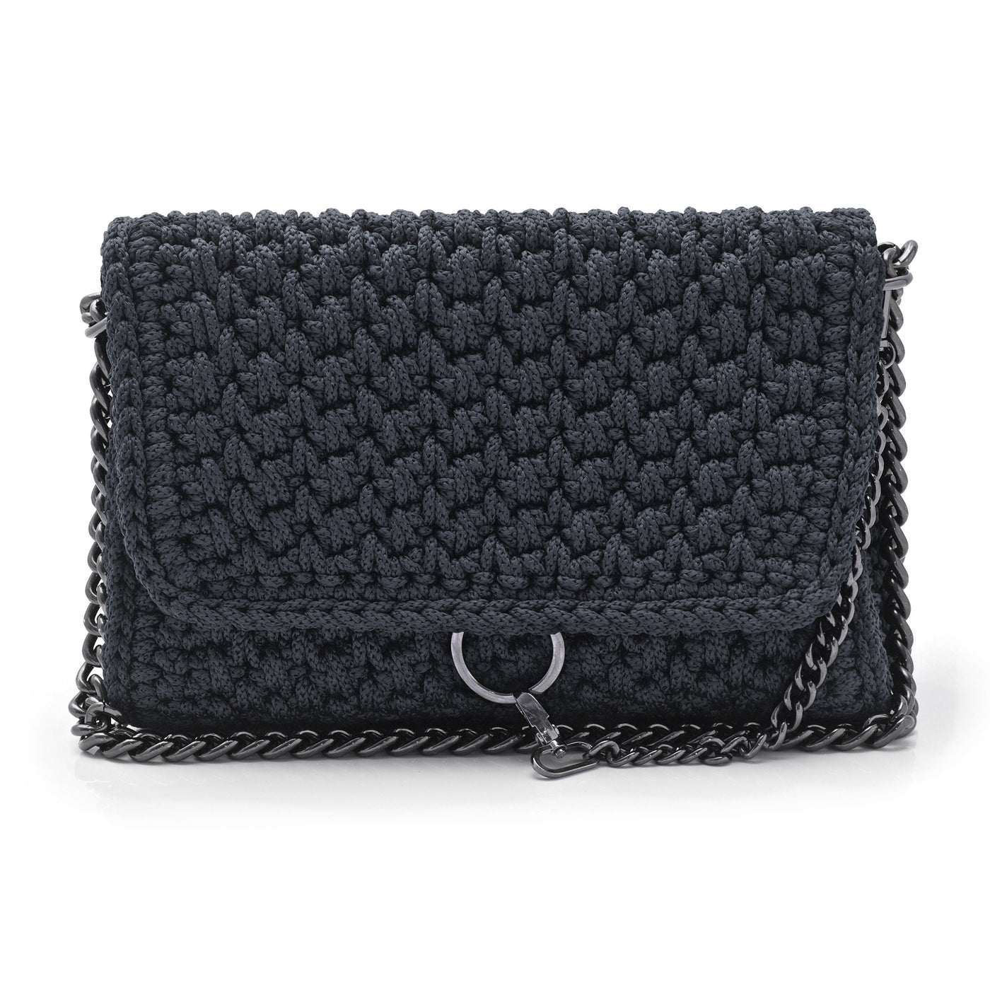 Crochet 'Link' Shoulder Bag