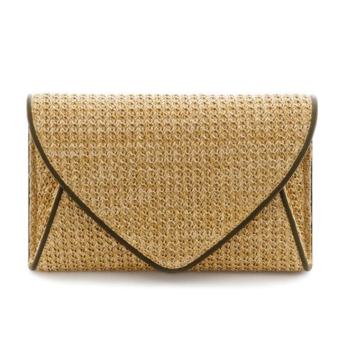 Lily Rose Envelope Clutch Bag - Olive