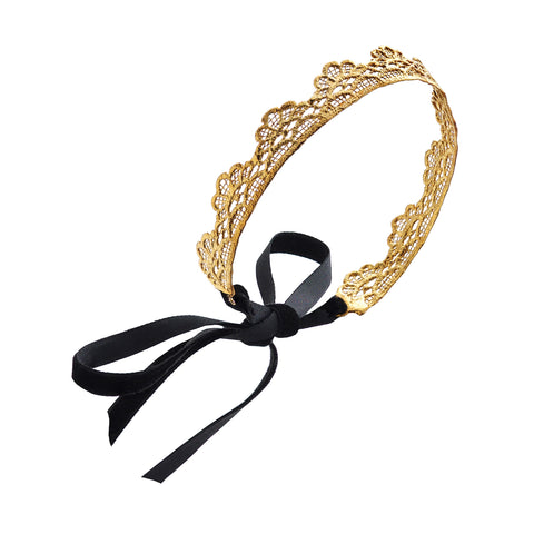 Victoria 24K GOLD-PLATED HEADBAND