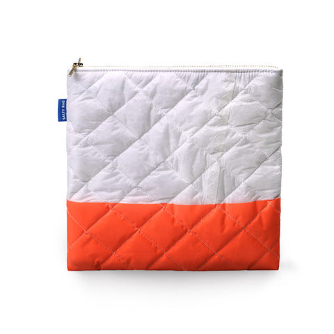 ATOKOS I ORANGE CLUTCH