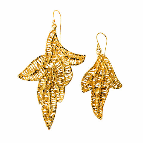 AURORA 24K GOLD-PLATED EARRINGS