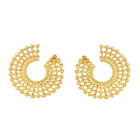 DORE 24k GOLD-PLATED EARRINGS