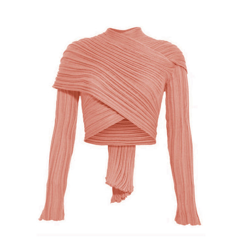 Cardigan/Wrap - Salmon