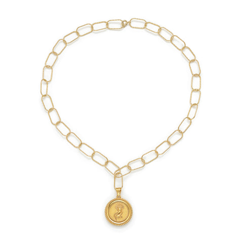 18K GOLD PLATED ARMATHEA NECKLACE