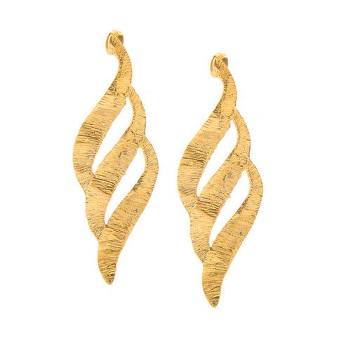 ORABELLE 24k GOLD-PLATED EARRINGS