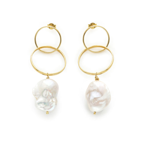 LOST SEA INFINITY I 18K GOLD EARRINGS
