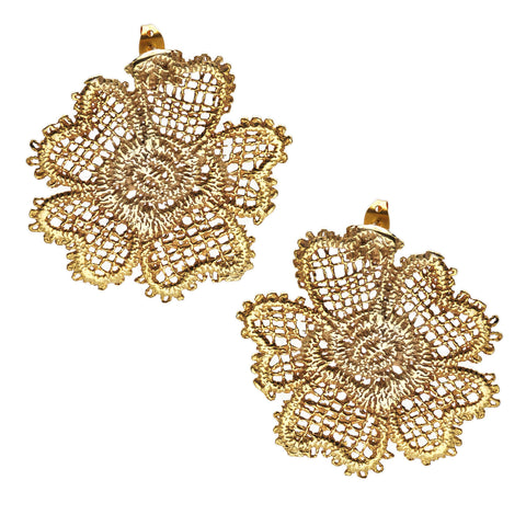 POPPY 24k GOLD-PLATED EARRINGS