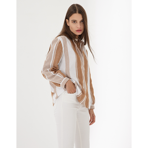 ISABEL I WOVEN BLOUSE