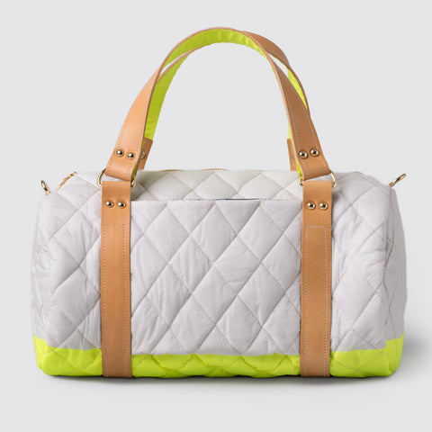 MINI CASSIOPI DUFFLE - Lime
