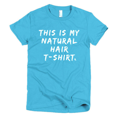 My Natural Hair T-Shirt- Spring Colors