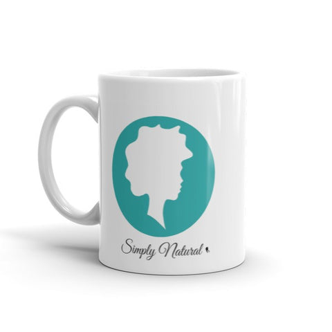 Simply Natural Mug - Teal