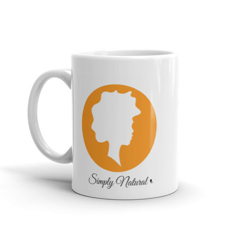 Simply Natural Mug - Orange