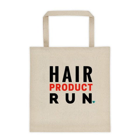 Hair Product Run Tote