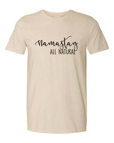 All Natural Tee *new sizing*