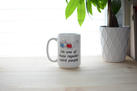 Regular Weird People Mug