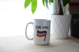 PRIDE Love Wins Mugs