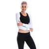 SP Arms - Shoulder Wrap (UV sleeves) - Crystal logo [White] - SParms